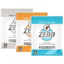 Buy Gatorade G Zero 2.5 Gallon Bulk Mix & Match Powder (Pack of 32) on sale online