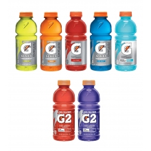 Gatorade 20 oz Wide Mouth Bottle - 24 Bottles