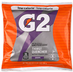 G2 Gatorade Grape Low Calorie Powder 6 Gallon - Instant Gatorade Mix