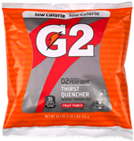 G2 Gatorade Fruit Punch Low Calorie Powder 6 Gallon - Instant Gatorade Mix