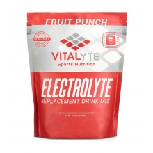 Vitalyte Fruit Punch 5 Gallon Electrolyte Replacement Stand Up Pouch
