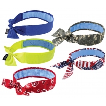 Buy Chill-Its 6700CT Evaporative Cooling Bandana with Cooling Towel - Tie  on sale online