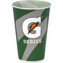 Buy Wholesale Gatorade Paper Cups - 5 oz. Waxed Paper Logo Cups 2500/cs on sale online