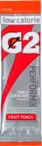 G2 Fruit Punch .52 oz Powder Sticks Pack - Low Calorie Sports Drink