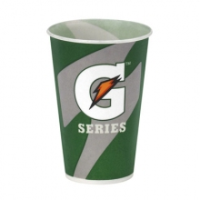 Buy 5 oz Gatorade Waxed Logo Paper Cups 2500/cs on sale online