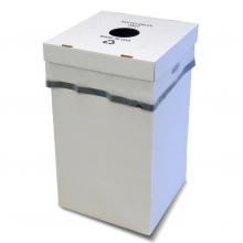 Disposable Trash Container w/Multi-Function Lid