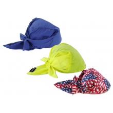 Chill-Its Evap. Cooling Triangle Hat with Cooling Towel